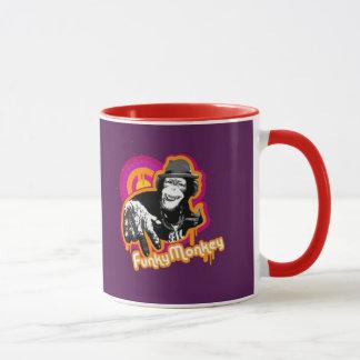 La tasse géniale de singe