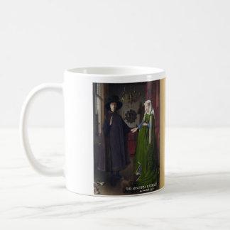 La tasse historique de mariage d'Arnolfini