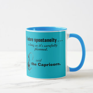 La tasse quintessencielle de Capricorne