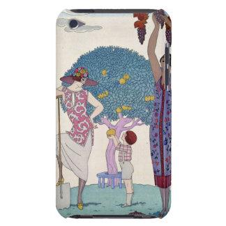 La terre, 1925 (litho de couleur) coque iPod Case-Mate