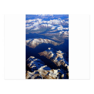 La terre de PLANÈTE de montagnes rocheuses du Carte Postale