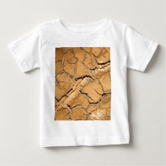 la terre de sol sec/fente t-shirt pour bébé