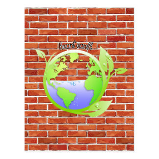 La terre, environnement cartes postales