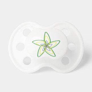 La tétine de BooginHead de fleur d'étoile de danse