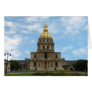 La tombe du napoléon carte