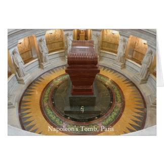 La tombe du napoléon, Paris Carte