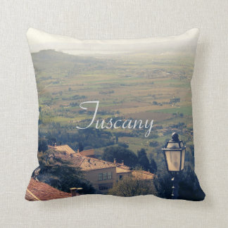 La Toscane. L'Italie. Cortona Coussin