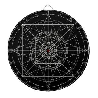 La troisième géométrie sacrée dimensionnelle jeux de fléchettes