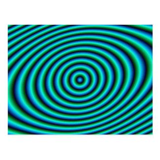 La turquoise sonne la carte postale