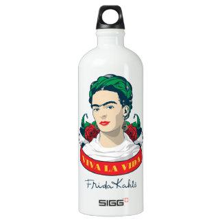 La Vida de vivats de Frida Kahlo | Bouteille D'eau En Aluminium