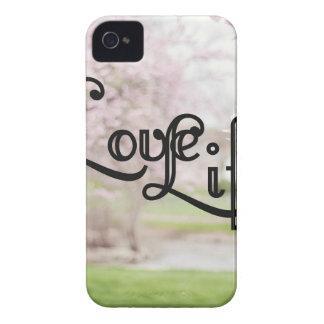 La vie d'amour coques iPhone 4