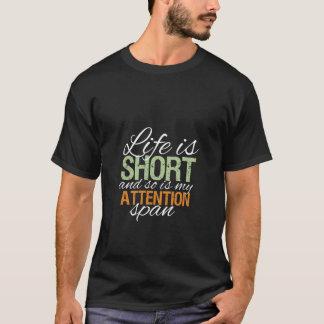 La vie drôle est T-shirt court