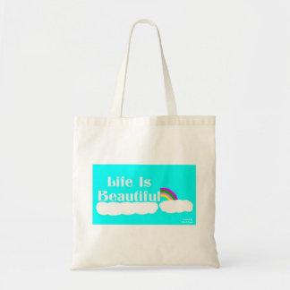La vie est beau sac fourre-tout