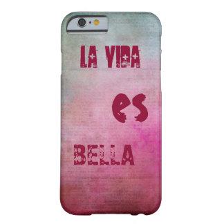 "«La vie est belle "" Coque Barely There iPhone 6"
