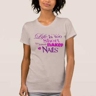 La vie est T-shirt trop court
