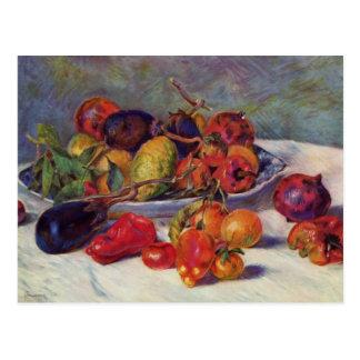 La vie toujours avec le fruit - Pierre-Auguste Carte Postale