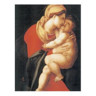 La Vierge et l'enfant Carte Postale
