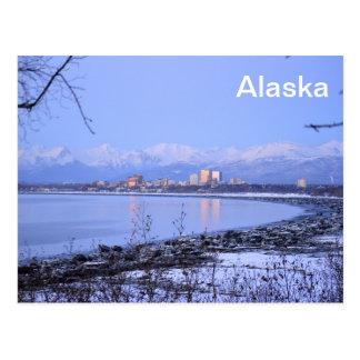 La ville d'Anchorage, Alaska Carte Postale