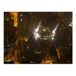 La ville de Chicago allume la carte postale