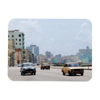 La vintage La Havane Cuba de voitures Magnet En Vinyle