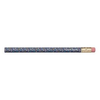 La violette d'amusement a modelé 2 lignes crayon