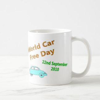 La voiture du monde libèrent le jour ! mug