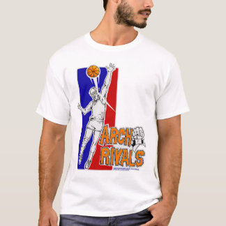 La voûte rivalise la pièce en t d'équipe t-shirt