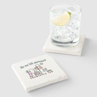 Laboratoire de chimie dessous-de-verre en pierre