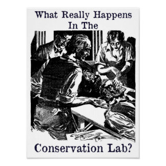 Laboratoire Pulp Fiction de conservation