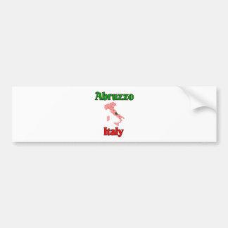 L'Abruzzo Italie Autocollant De Voiture