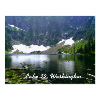 Lac 22, carte postale de Washington