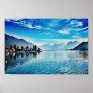 Lac Annecy - Baie de Talloires Poster