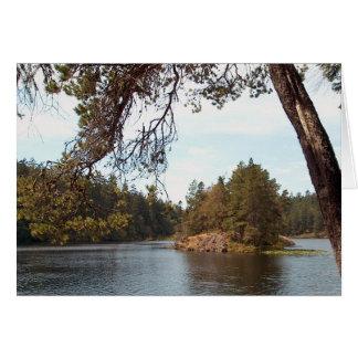 Lac Matheson, Colombie-Britannique Carte
