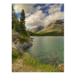 Lac Minnewanka Carte Postale
