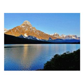 Lac park national de Banff Carte Postale