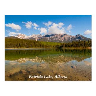 Lac patricia, carte postale de parc national de