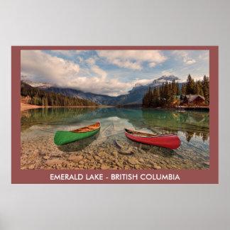 Lac vert, Colombie-Britannique, Canada
