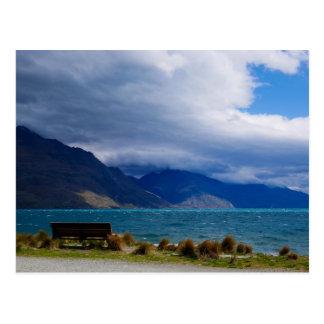 Lac Wakatipu, Queenstown, Nouvelle Zélande - carte