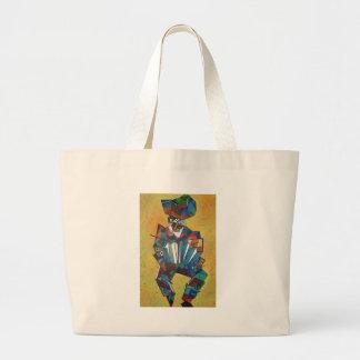 L'accordéoniste Grand Tote Bag
