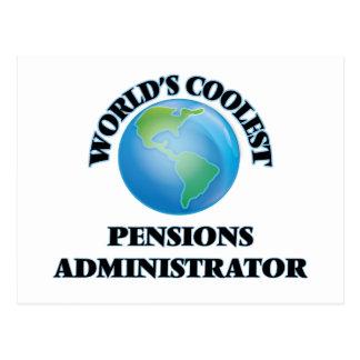 L'administrateur des pensions le plus frais du carte postale