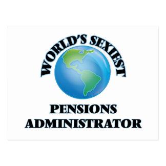 L'administrateur des pensions le plus sexy du cartes postales