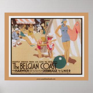 L'affiche belge de côte