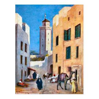 L'Afrique du Nord vintage, Mogador, Maroc Carte Postale