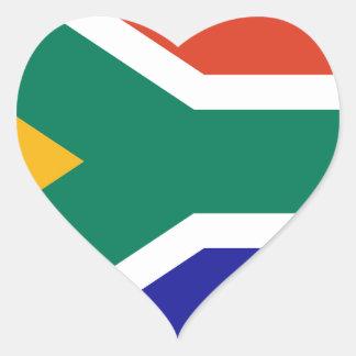 L'Afrique du Sud Sticker Cœur