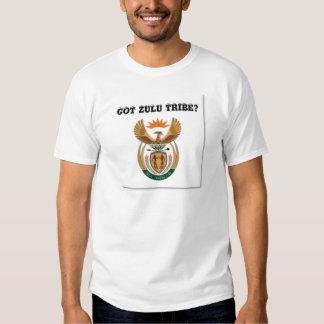 L'Afrique du Sud (tribu de zoulou) Tee Shirts