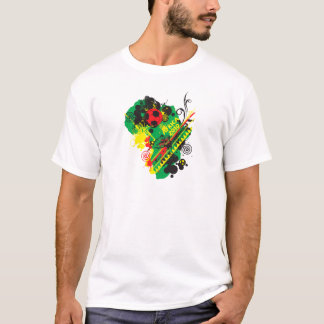 L'Afrique pour l'Afrique par Zetuzakale - collage T-shirt