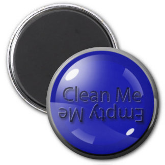L'aimant de lave-vaisselle vide je me remplissent magnet rond 8 cm