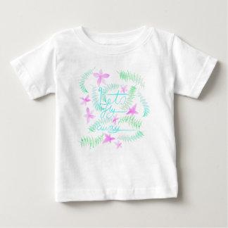 Laisse la mouche partie t-shirt pour bébé
