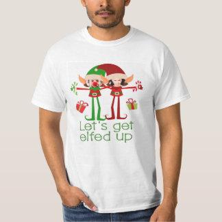 Laisse obtenir Elfed vers le haut d'amusement de
