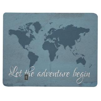 Laissez l'aventure commencer carnet de poche